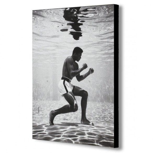 Muhamed Ali Underwater vászon nyomat