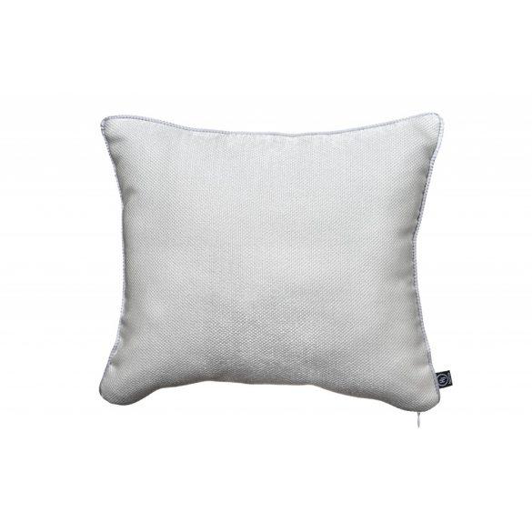 Ezüst színű csillogó párna 40x40