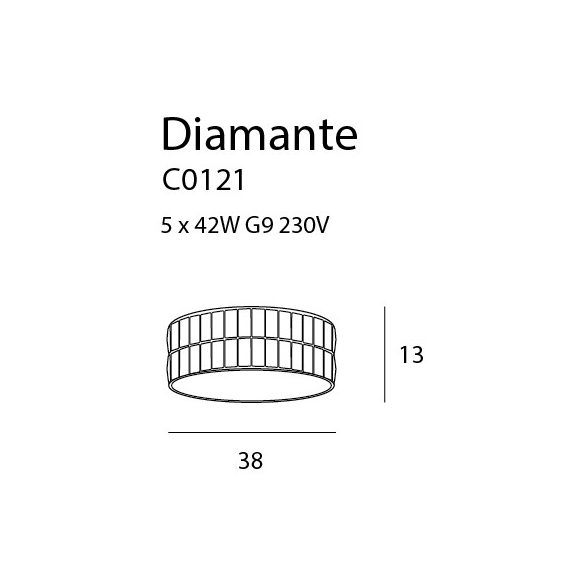 Maxlight Diamante C0121