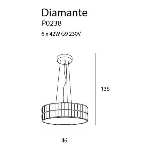 Maxlight Diamante P0238