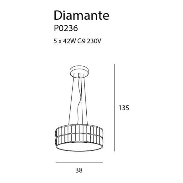 Maxlight Diamante P0236